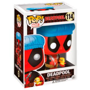 Funko Figurine Pop! Deadpool Shower Cap & Ducky