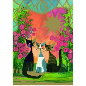 Heye Rosina Wachtmeister: Roses - Puzzle 2000 pièces