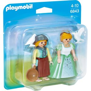 Playmobil 6843 - Pack duo princesse et servante