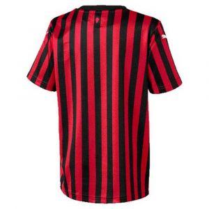 Puma T-shirt enfant Maillot domicile junior AC Milan 2019/20 rouge - Taille 10 ans,12 ans,14 ans