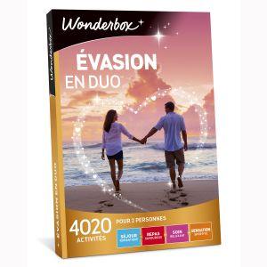 Wonderbox Evasion en duo - Coffret cadeau 4020 activités
