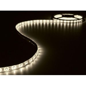 Velleman ENSEMBLE DE BANDE A LED FLEXIBLE ET ALIMENTATION - BLANC CHAUD - 300 LED - 5 m - 12Vcc - SANS REVETEMENT - LEDS16WW