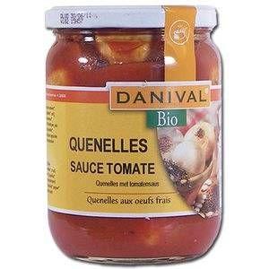 Danival Quenelles à la tomate bio 490 g