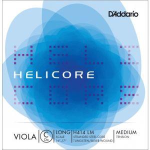 D'Addario Bowed Corde seule (Do) pour alto Helicore, « Long Scale », tension Medium