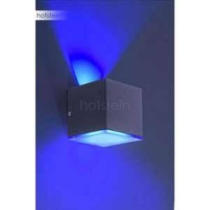Paul neuhaus Applique murale Q-AMIN LED Anthracite, 1 lumière - Moderne/Puriste - Extérieur
