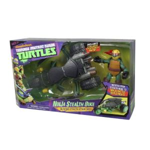 Giochi preziosi v hicule tortue ninja stealth bike avec - Vehicule tortue ninja ...