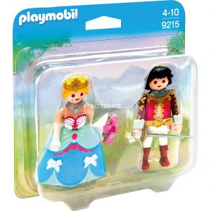 Image de Playmobil 9215 Princess - Duo pack Prince et Princesse