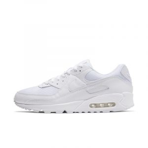 Nike Chaussure Air Max 90 pour Homme - Blanc - Taille 44 - Male