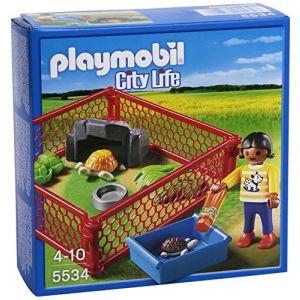 Playmobil 5534 City Life - Enclos des tortues