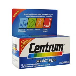 Centrum Select 50+ - 60 Comprimés