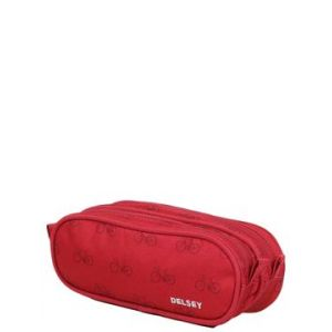 Delsey Trousse Back To School Rouge - 2 compartiments
