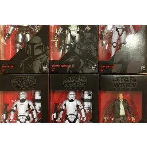 Hasbro Star Wars The Black Series - Episode 7 Wave 1 (Boîte de 6)
