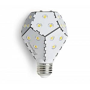 Ampoule LED Nanoleaf Bloom -Dimmable avec un interrupteur simple - Blanche, 10 W, 1200 lm, E27, 3000 K