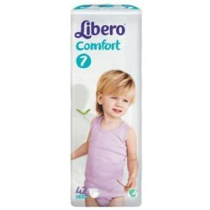 Libero Comfort 7 (15-30 kg) - 42 couches