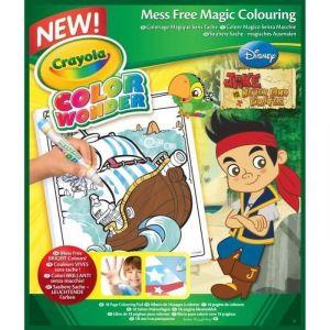 Crayola Album Color Wonder Jake Le Pirate