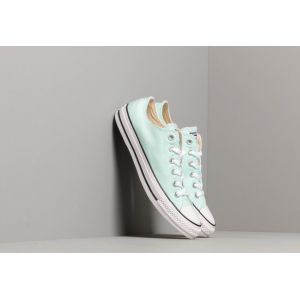 Converse Chaussures casual unisexes Chuck Taylor All Star basses en toile Seasonal Color Vert - Taille 37,5