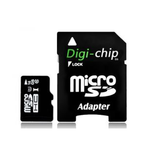 Digi-chip HKDC16M10 - Carte mémoire microSD UHS-l 16 Go classe 10