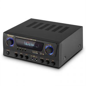 Auna Amp-2 - Ampli HiFi Karaoké 100W max. USB SD MP3