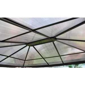Leco Pergola aluminium toit rigide