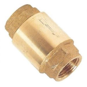 Somatherm Clapet de retenue - Laiton - Universel - Axe laiton - 25 Bar Ø 3/4