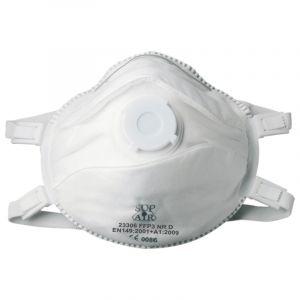 Masque FFP3 NR D SL Coque valve PREMI SUP AIR (boîte de 5 pièces)
