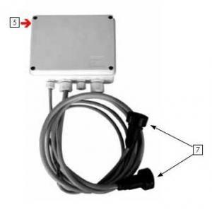 Procopi 32270163 - Liaison de connexion pour moto-réducteur Aquamat 3001