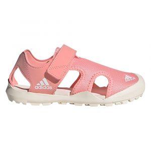 Adidas Captain Toey K, Sandales Mixte Enfant, Rose Gloire/Blanc Craie/Rose Gloire, 34 EU