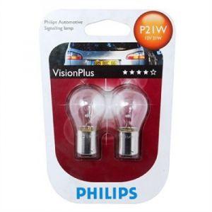 Philips 2 Ampoules VisionPlus P21W 12 V