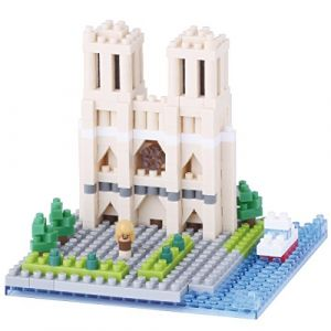 Kawada Nanoblock - Cathédrale Notre Dame de Paris