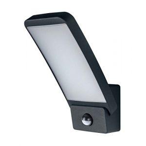 Osram Applique extérieure Endura Style Wall Sensor - 15 W - Carré - Gris chaud