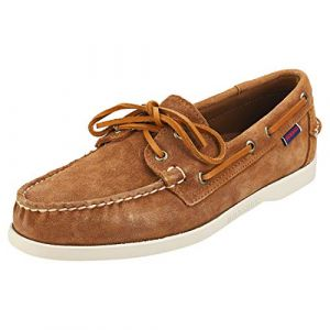 Sebago Chaussures bateau DOCKSIDES PORTLAND SUEDE Marron - Taille 41,44,45,46