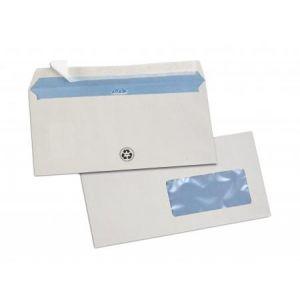 Gpv 500 enveloppes 11 x 22 cm avec fenêtre 4,5 x 10 cm