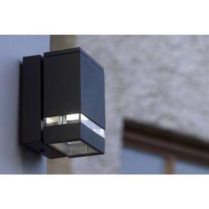 Lutec Applique murale LED extérieure ECO-Light Focus 6051 GR LED LED intégrée anthracite