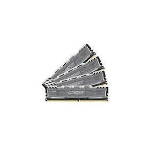 Crucial BLS4C8G4D240FSBK - Barrette mémoire Ballistix Sport LT 32 DDR4 8 Gox4 2400 DIMM 288pin grey SR