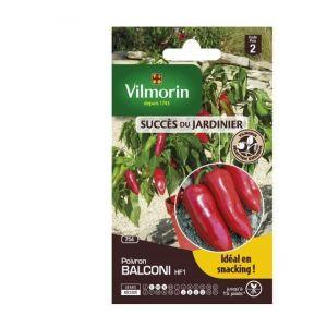 Vilmorin Poivron Balconi - Sachets graines
