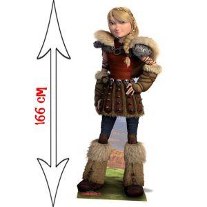 Figurine en carton Astrid Dragon
