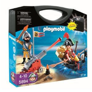 Playmobil 5894 - Valisette pirate et soldat