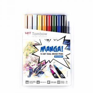 Tombow ABT Dual Brush Pen Manga Shonen
