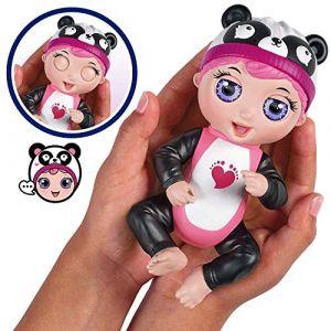 Bandai TINY TŒS - Mini Poupon interactif - Gabby Babille - Panda