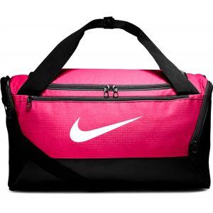Nike Sac de sport Brasilia Duffle Bag Noir / Rose - Taille Taille Unique