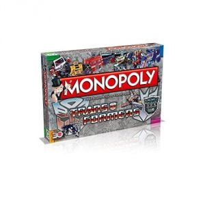 Winning Moves Monopoly Transformers (version anglaise)