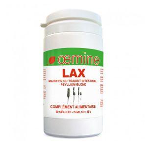 Oemine Lax - Psyllium blond 60 gélules