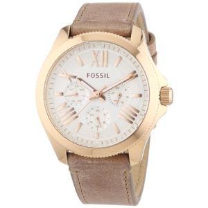 Fossil AM4532 - Montre pour femme bracelet en cuir Cecile