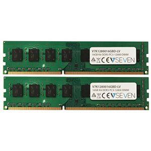 V7 V7K1280016GBD-LV - 16Go DDR3 PC3L-12800 1600MHz DIMM