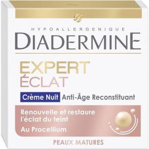Diadermine Expert Eclat - Crème de nuit anti-âge reconstituant