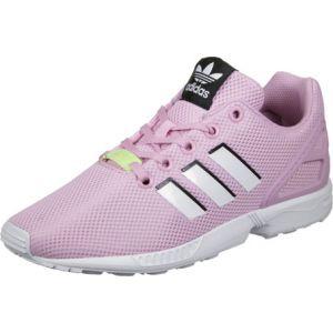 Image de Adidas ZX Flux, Sneakers Basses Mixte Enfant, Rose (Frost Pink/Footwear White/Footwear White), 38 2/3 EU