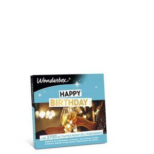 Wonderbox Coffret Cadeau Happy Birthday Gold