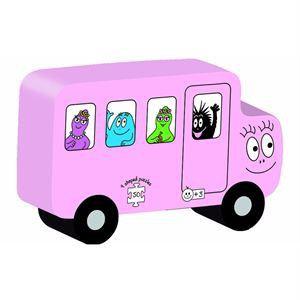 Dujardin 9 puzzles Transport Barbapapa