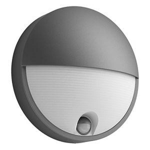 Philips Capricorn Anthracite - Applique LED extérieure IR détecteur IP44 H21 cm