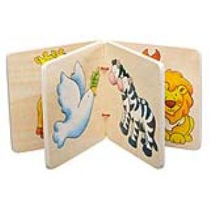 Goki 58571 - Livre d'images en bois